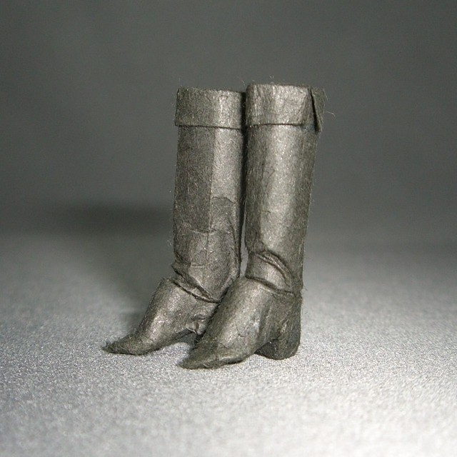 和紙ブーツ